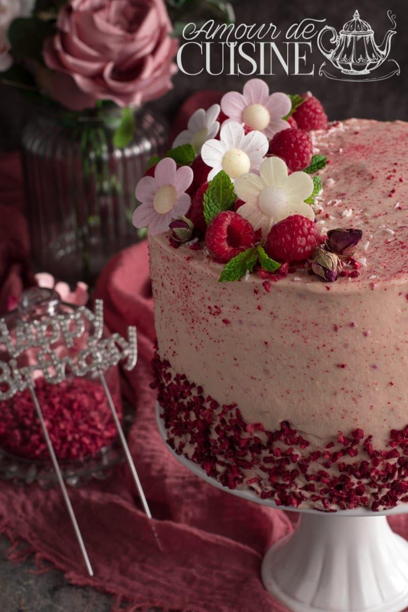 le layer cake, gateau d'anniversaire à étages