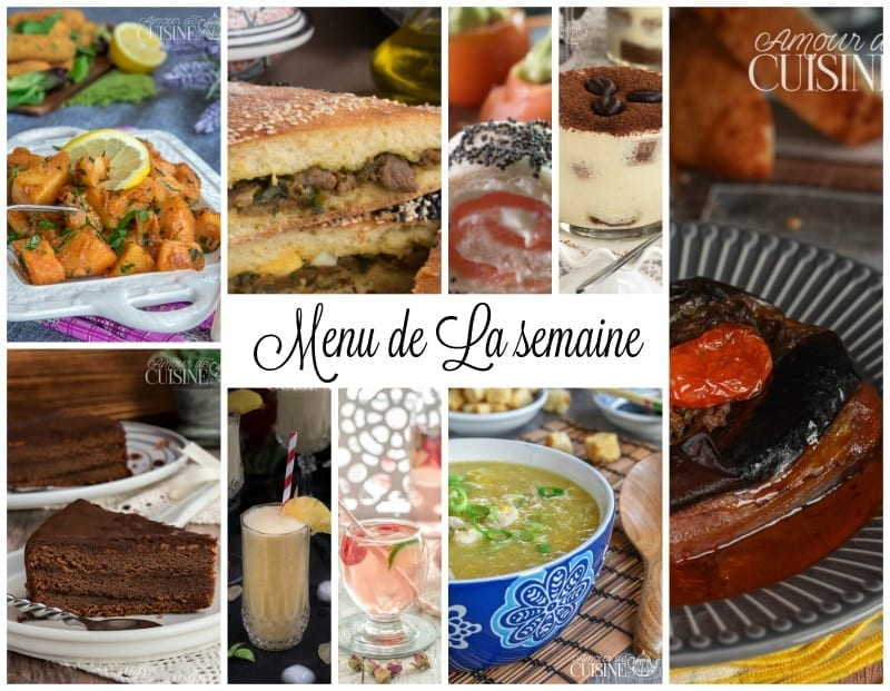 Menu Semaine Idee Repas Facile Et Rapide Amour De Cuisine