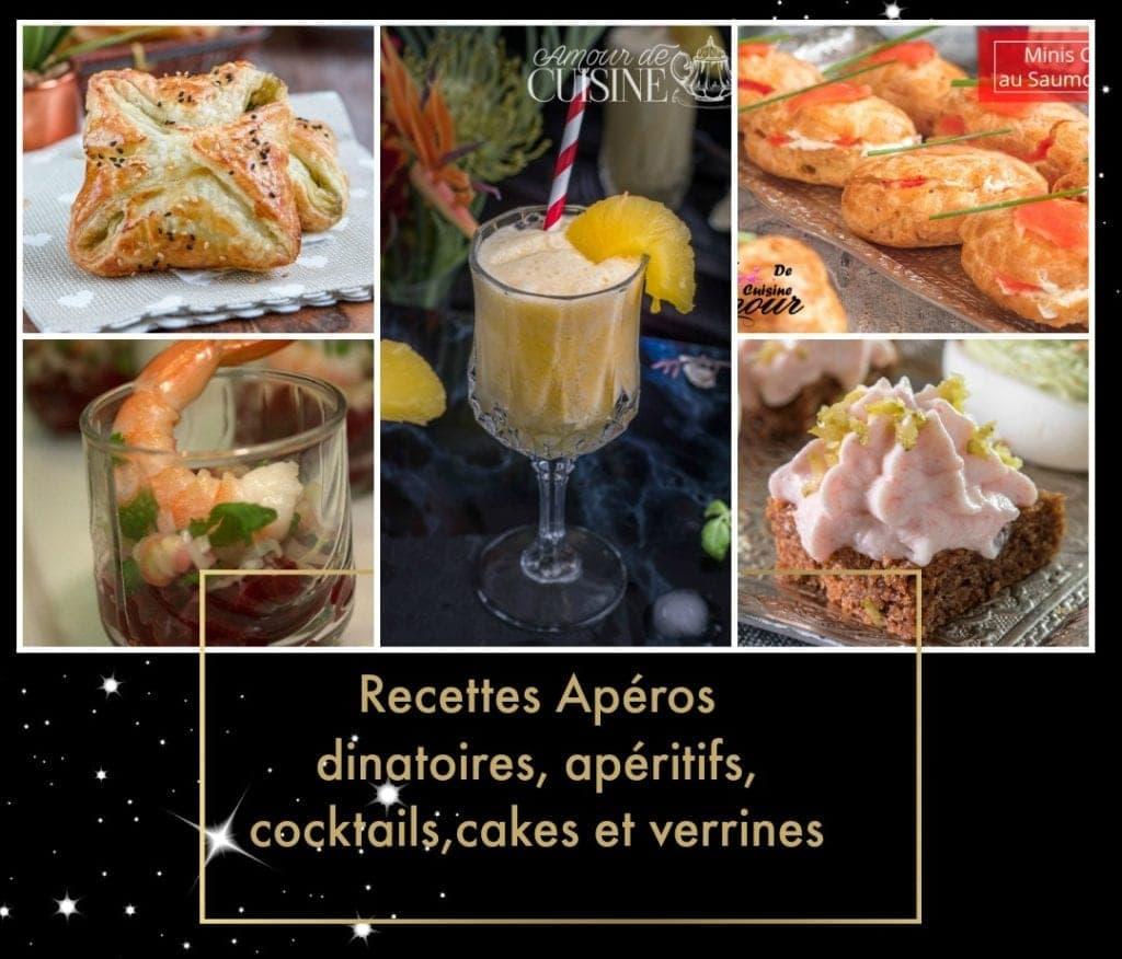 Idée Repas Pour Deux Amoureux idée apéro dînatoire et recettes d'apéritifs faciles