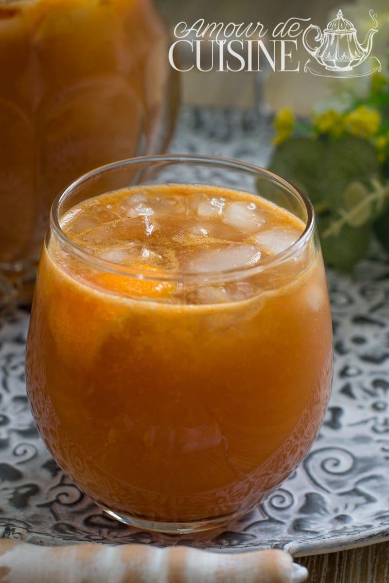 spritz sans alcool orange pamplemousse