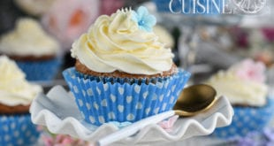 cupcakes à la vanille et crème au beurre à la vanille