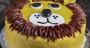 gateau d'anniversaire Lion