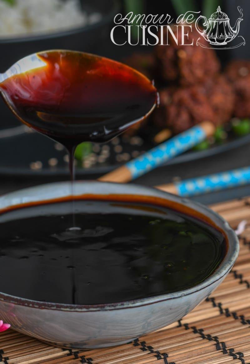 sauce yakitori maison