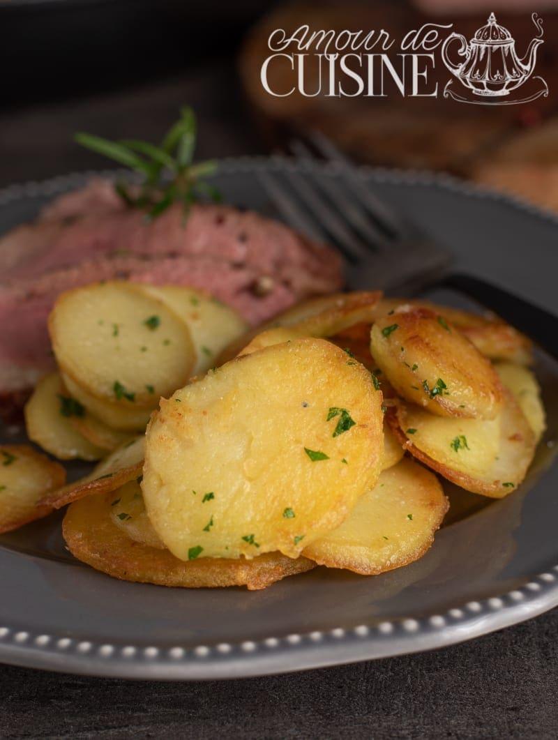 pommes de terre sautées au persil