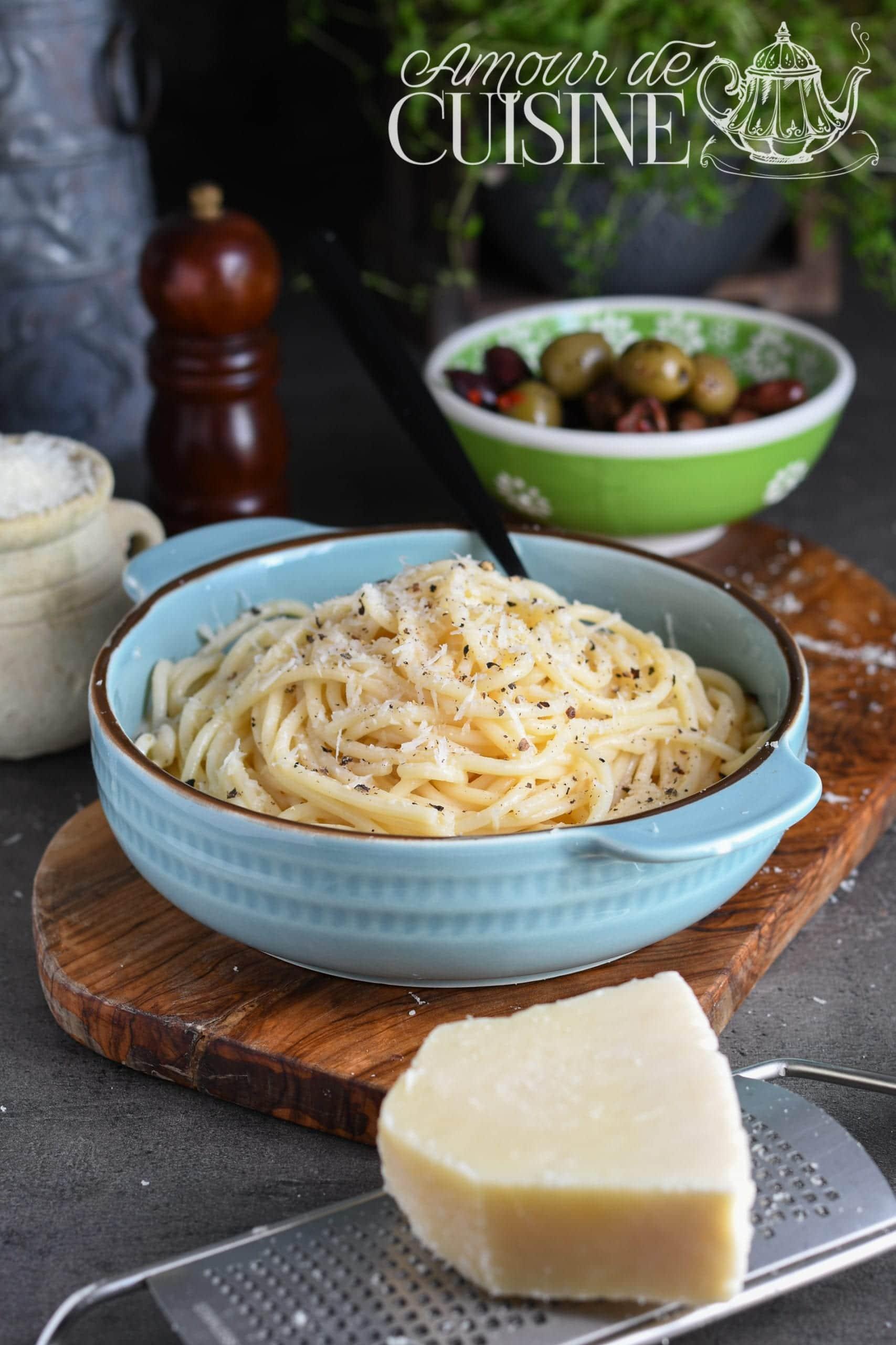 Recette de spaghetti cacio e pepe