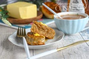 crumpets à la farine complète
