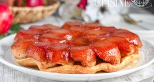 recette de la tarte tatin aux pommes, recette classique de grand mère