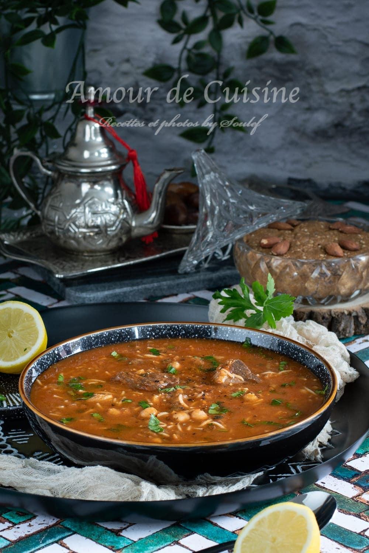recette harira marocaine