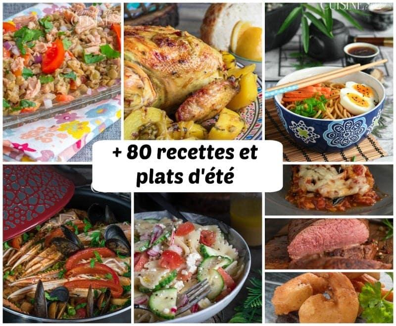 Idee Recettes D Ete Menu 4 Semaines Amour De Cuisine