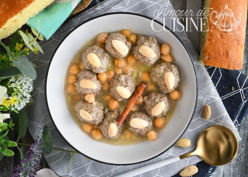 mtewem express, boulettes de viande en sauce