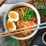 soupe japonaise ramen vegetarien