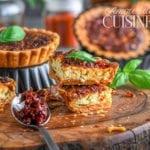 cheesecake au paprika et tomates sechées