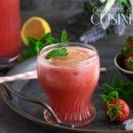 limonade de fraises et pasteque 2