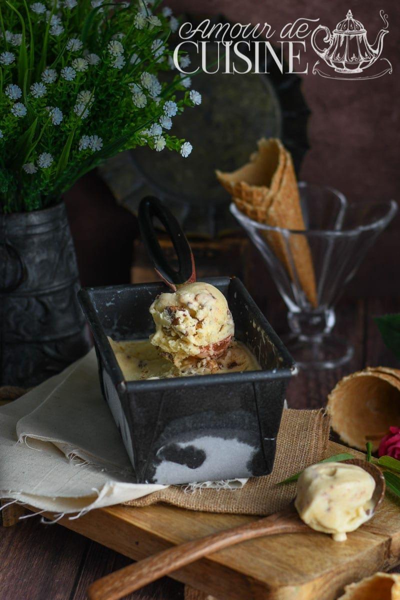 creme glacée a la vanille sans sorbetiere