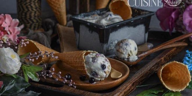 creme glacee au mascarpone et fruits d'été