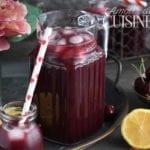 recette de limonade aux cerises
