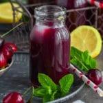 limonade aux cerises
