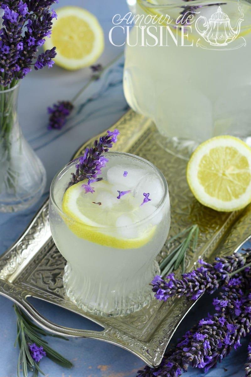 recette de Limonade de Lavande