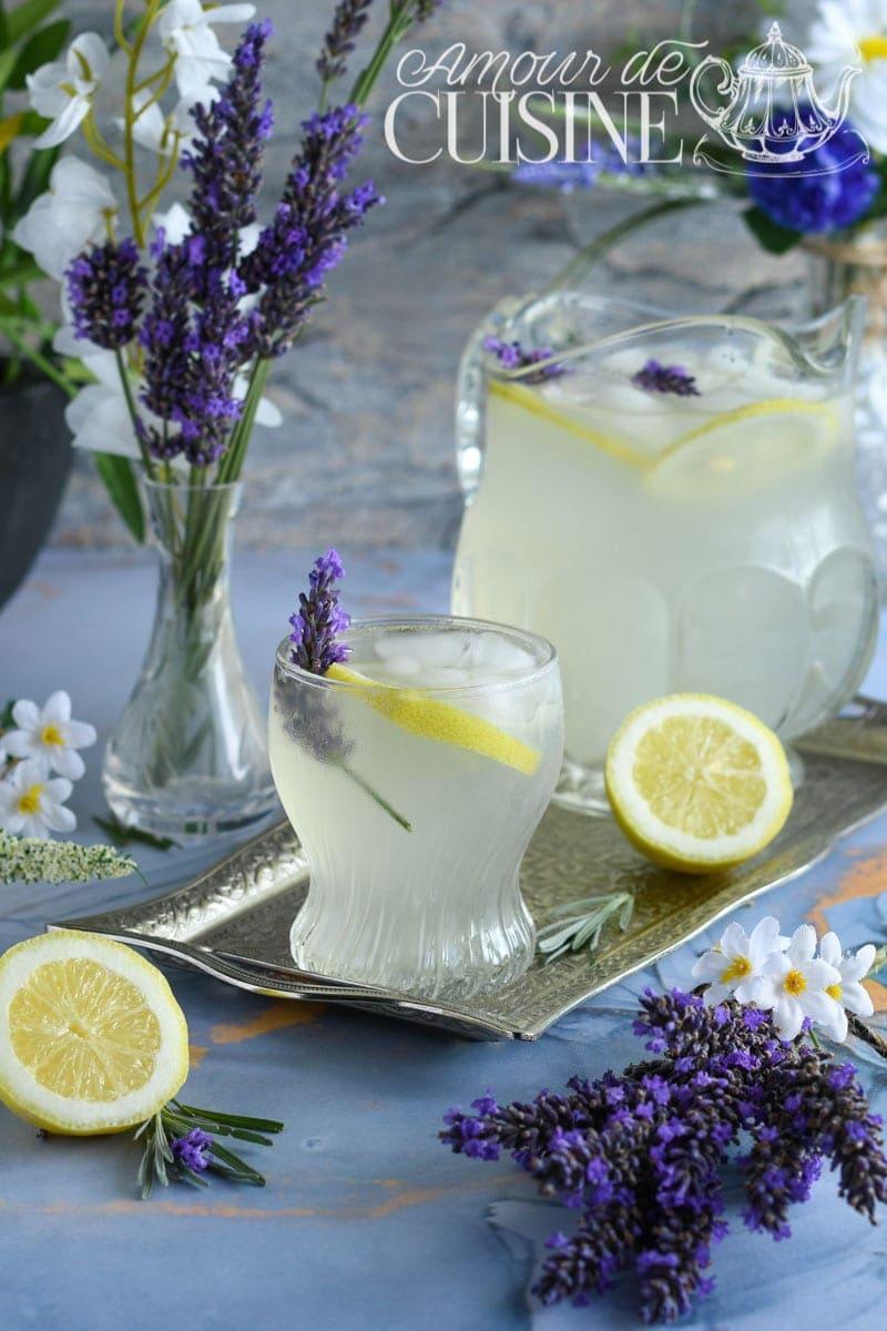 Limonade de Lavande boisson rafraîchissante