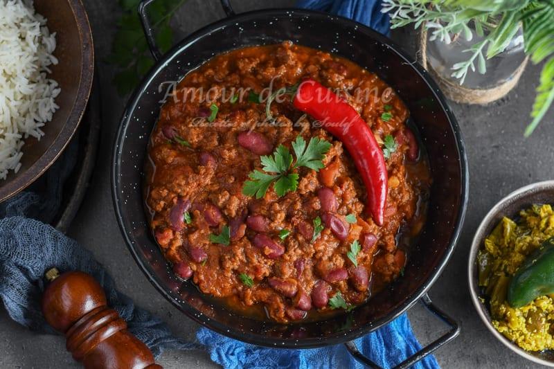 recette de chili con carne facile