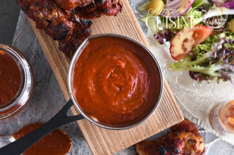 recette sauce barbecue fait maison