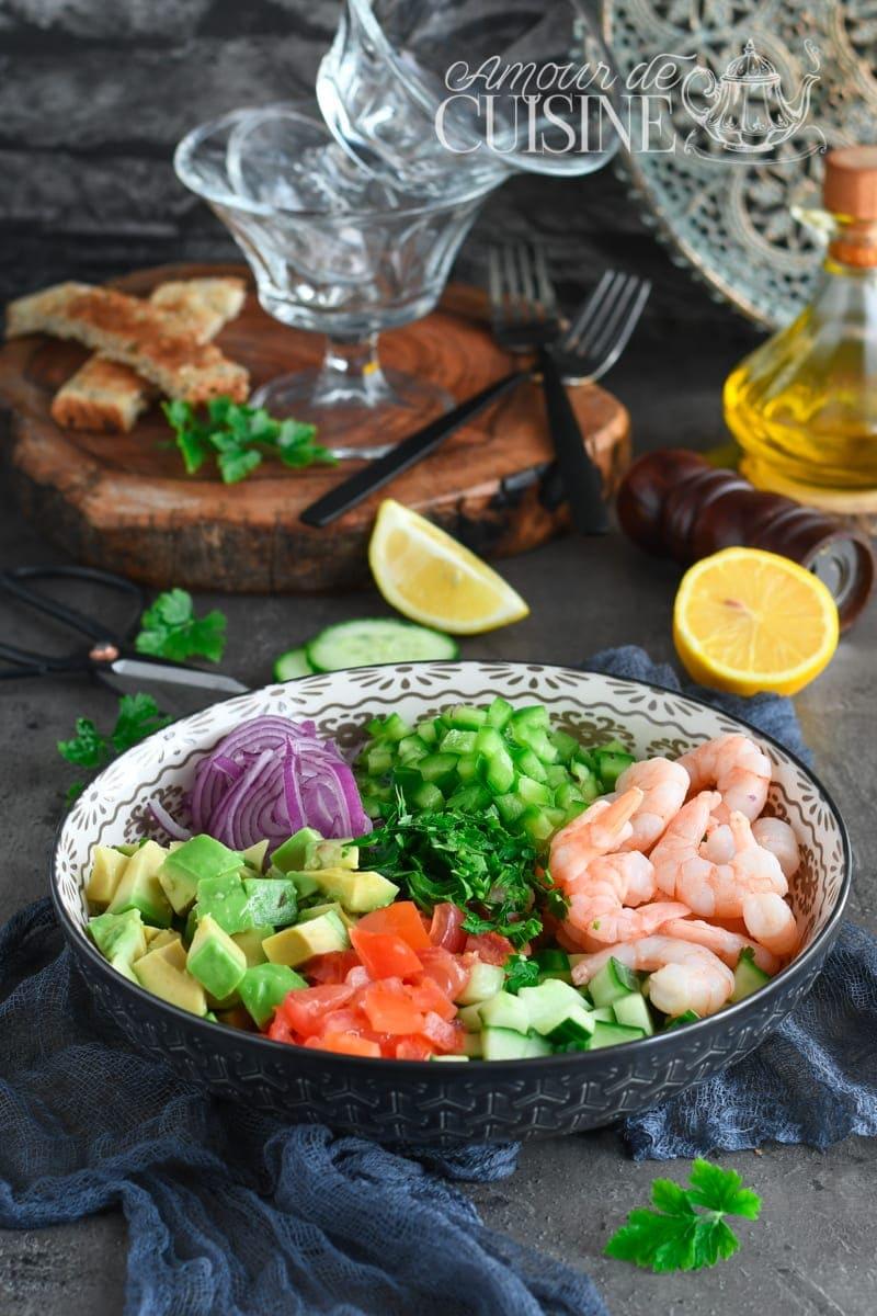 recette facile ceviche de crevettes