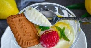 Crème au citron ou lemon posset