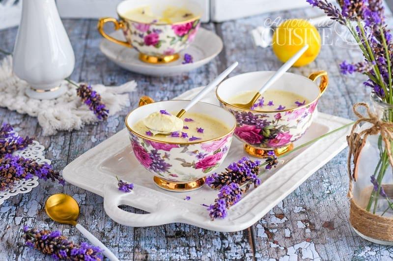 crème de citron à la lavande-Lavender Posset