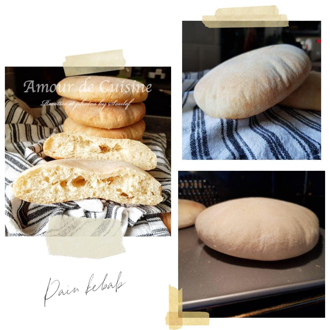 cuisson pain kebab au four