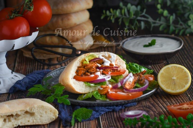 meilleure recette de kebab au poulet maison
