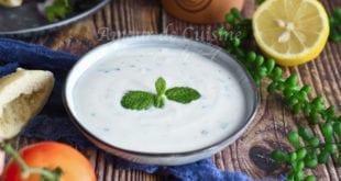 recette sauce au yaourt pour kebab