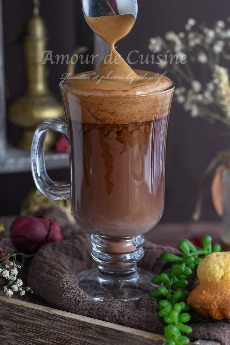 Café mocha et dalgona maison