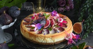 cheesecake aux figues et speculoos