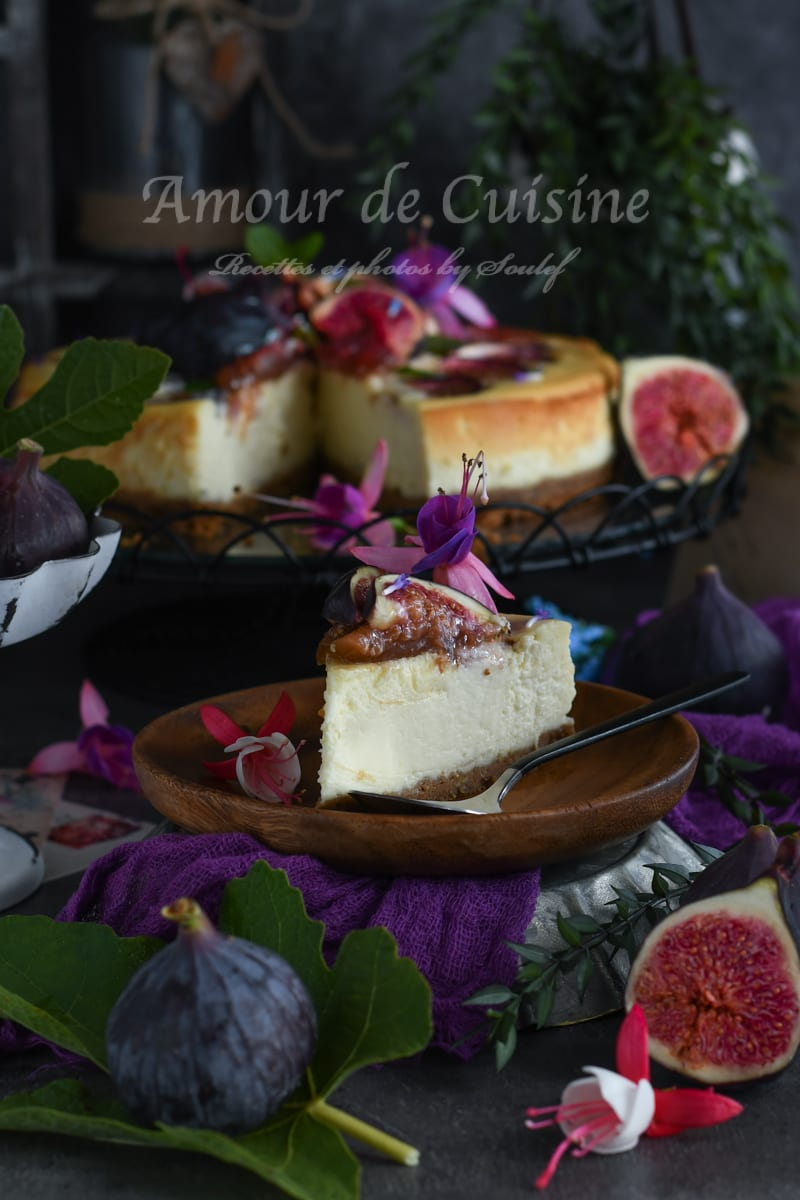 cheesecake aux figues et speculoos 1