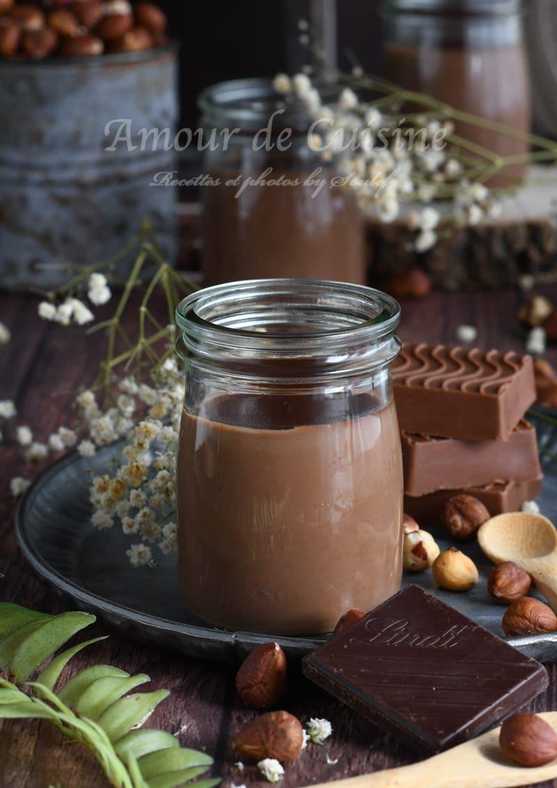 pot de creme chocolat gianduja