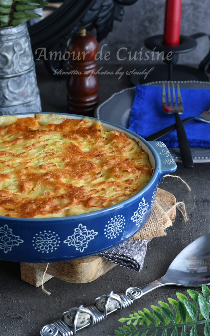 fish pie hachis parmentier de poisson