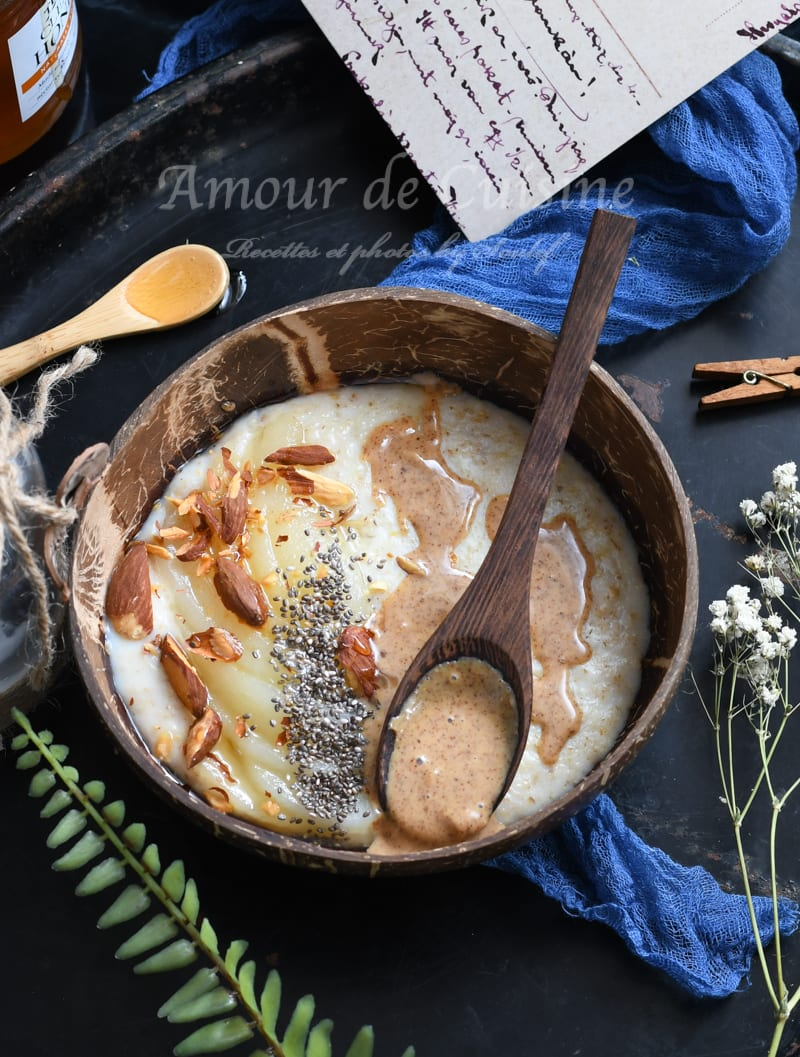 porridge bowl aux poires