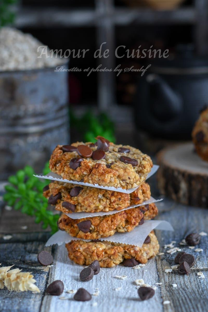 biscuits sans gluten choco banane