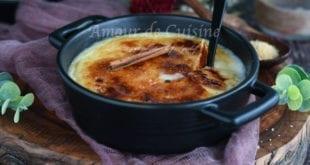 Crème de polenta brûlée aux épices