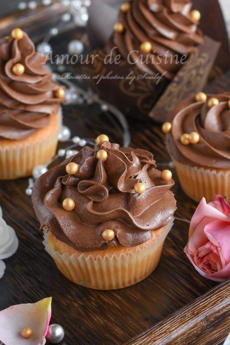 Ganache montée au Nutella pour bûches et macarons