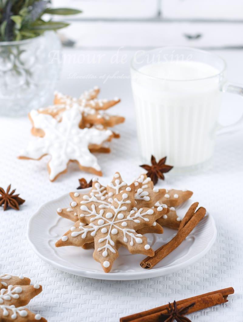 Biscuits sablés à la cannelle bredele de Noel