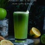 Jus vert au céleri pomme et concombre