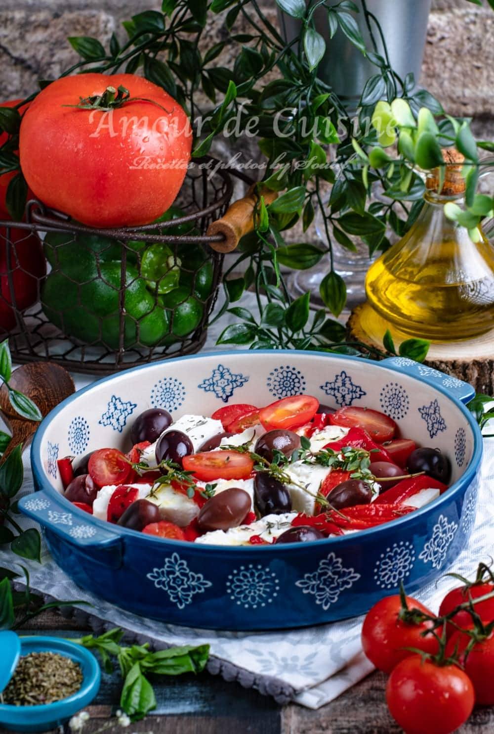 féta rotie aux olives et tomates-2