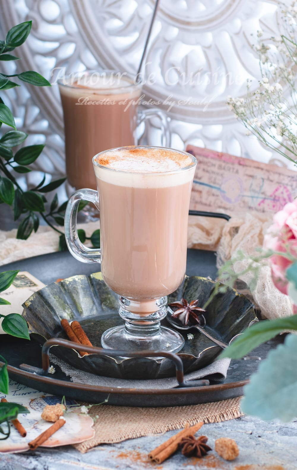 recette chai latte maison