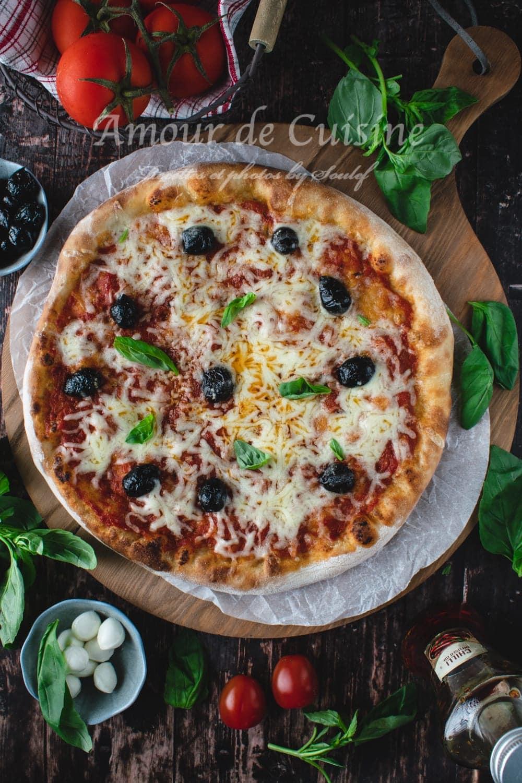 pizza margherita cuisson parfaite