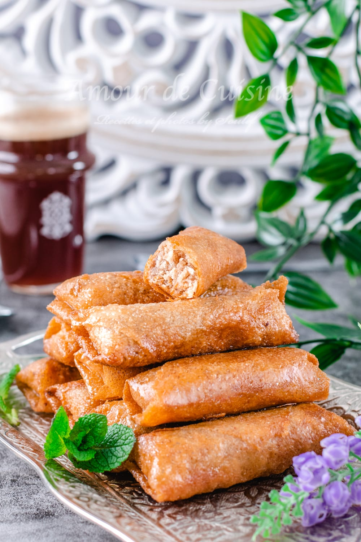 cigares aux amandes, dessert Ramadan