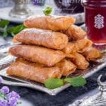 les cigares aux amandes et miel pour Ramadan