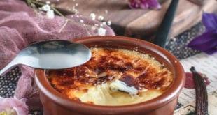 Crème brûlée à la vanille facile
