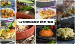 + 50 recettes de diner facile