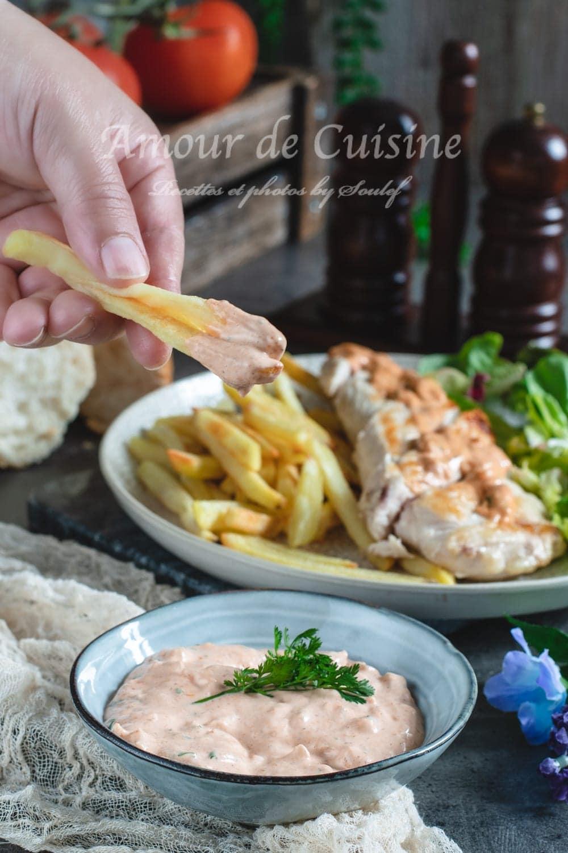 recette de la sauce algérienne maison facile